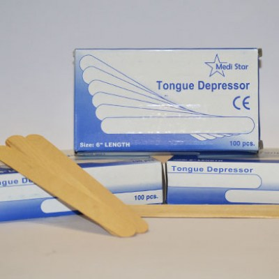 Tongue Depressors, Box of 100
